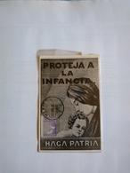México Maximun Card Postal Maximun Unique Early 1929 By José Buil Children Protection Stamp - Mexico