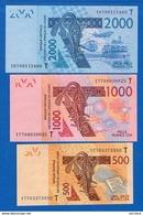 Togo  3  Billets - Togo