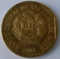 Pérou - 10 Centimos 2001 - - Pérou