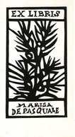 B 2482 - Ex Libris - Ex Libris