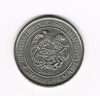 //  ARMENIE  100 DRAM  2003 - Arménie