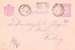 18 JUN 91  Kleinrond ST.MICH:-GESTEL Op Bk Naar Tilburg - Poststempel
