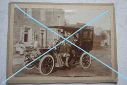 Photo CHEVETOGNE Corbion Haversin Ardenne Avant 1914 Comte Van Der Stegen Auto De Mr Jacquelaer Voiture Car - Automobile