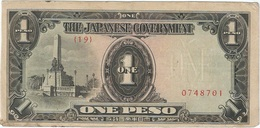 Filipinas - Philippines 1 Peso 1943 Pk 109 A.1 Ref 2 - Philippinen