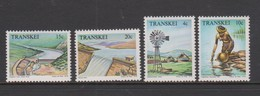 South Africa-Transkei SG 54-57 1979 Water Resources, Mint Never Hinged - Transkei