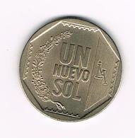 //  PERU  UN NUEVO  SOL  2007 - Pérou