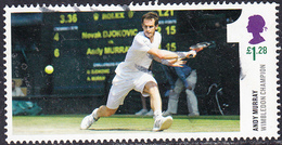 2013 Andy Murray Wimble Champion - Running Shot £1.28  SG3511b - 1952-.... (Elizabeth II)