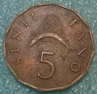 Tanzania 5 Senti, 1984 -4517 - Tanzanía