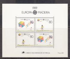 Madeira MNH Michel Nr  Block 10 From 1989 CEPT / Catw 12.00 EUR - Madeira