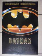 Affiche De Cinéma - BATMAN - Jack Nicholson, Michael Keaton...- Dim. 60 X 42 Cm - Posters
