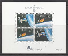 Madeira MNH Michel Nr  Block 12 From 1991 CEPT / Catw 15.00 EUR - Madeira