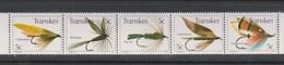 South Africa-Transkei SG 99-103 1982 Fishing Flies 3rd Series, Mint Never Hinged - Transkei