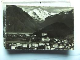 Zwitserland Schweiz Suisse BE Interlaken Stadtteil Und Jungfrau - BE Berne