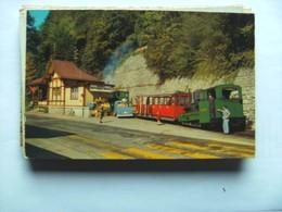 Zwitserland Schweiz Suisse BE Brienz Und Rothornbahn Mit Zug - BE Berne