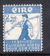 Ireland 1931 Royal Dublin Society Bicentenary, Hinged Mint, SG 93 - Nuovi