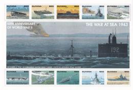 Guyana 3035/44 ** - Seconda Guerra Mondiale