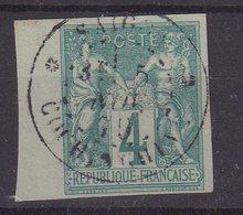 "COLONIES GENERALES : TYPE SAGE . N° 25 . BDF . OBL . CAD . "" SAIGON COCHINCHINE "" . TB . 1879 - Sage"