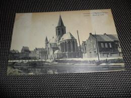 Deynze  Deinze  L' église Et La Lys ( Leie ) - Deinze