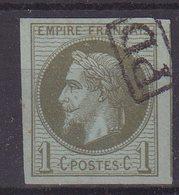 "COLONIES GENERALES : N° 7 . OBL . "" REUNION "" . TTB . 1871 . - Napoléon III"