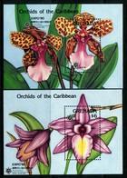 Grenada 1990 Expo '90 - Orchids MS Set MNH (SG MS2090a+b) - Grenada (1974-...)