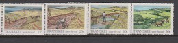 South Africa-Transkei SG 164-167 1985 Soil Conservation, Mint Never Hinged - Transkei