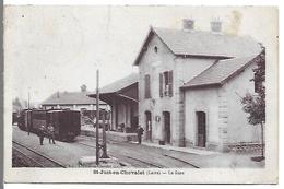 SAINT JUST EN CHEVALET - La Gare - France