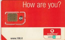 GSM WITH CHIP NOT ACTIVE -ONLY COLLECTION- VODAFONE (A38.2 - [2] Handy-, Prepaid- Und Aufladkarten