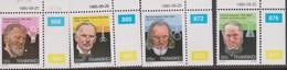 South Africa-Transkei SG 176-179 1985 Celebrities Of Medicine 4th Series, Mint Never Hinged - Transkei