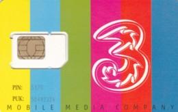 GSM WITH CHIP NOT ACTIVE -ONLY COLLECTION- TRE (A45.6 - [2] Handy-, Prepaid- Und Aufladkarten
