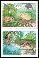 Grenada 1990 Fauna MS Set MNH (SG MS2108a+b) - Grenada (1974-...)