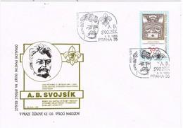 32624. Carta PRAHA (Republica Checa) 1996. SVOJSIK, Fundador Grupo Junik De SCOUTS - Cartas
