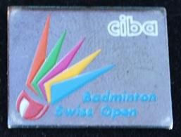 BADMINTON SWISS OPEN -  CIBA  - SCHWEIZ -  SUISSE - VOLANT -             (21) - Badminton