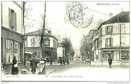 (94) ALFORTVILLE -LES 2 BILLARDS LA PHARMACIE RUE VERON 1904 - Eba-250 - Alfortville