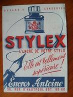 Buvard   STYLEX  L'encre De Votre Stylo - Vloeipapier