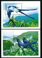 Grenada 1990 Birds MS Set MNH (SG MS2164a+b) - Grenada (1974-...)