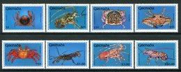 Grenada 1990 Crustaceans Set MNH (SG 2165-2172) - Grenada (1974-...)