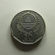 Cabo Verde 20 Escudos 1994 - Cabo Verde