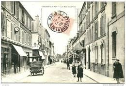 (94) CHOISY-LE-ROI  - LA RUE DU PONT EN 1906  -   Eba-252 - Choisy Le Roi