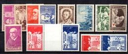 France Belle Petite Collection Neufs ** MNH 1936/1942. Bonnes Valeurs. TB. A Saisir! - Collections