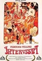 Milo MANARA - Affiche De Film Intervista De Fellini - Bande Dessinée - Bandes Dessinées