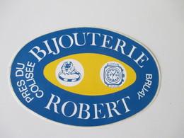 Autocollant Bijouterie Robert Bruay - Stickers