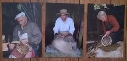 Lot De 3 Cartes Postales / BAUD 56 Aventure Carto / Vanniers /photo Y Kervinio - Artisanat