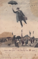 Bosanski Brod - Man W Umbrella Photo Montage 1905 - Bosnie-Herzegovine
