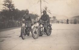 Carte Photo Ancienne Moto - Motorbikes
