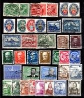 Allemagne/Reich Belle Collection D'oblitérés 1925/1939. Bonnes Valeurs. B/TB - Collections