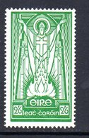 Ireland 1940-68 Definitives, E Wmk., 2/6d Value, Chalky Paper, Hinged Mint, SG 123b - Unused Stamps
