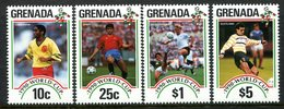 Grenada 1990 Football World Cup, Italy Set MNH (SG 2174-2177) - Grenada (1974-...)