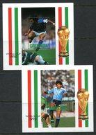 Grenada 1990 Football World Cup, Italy MS Set MNH (SG MS2178) - Grenada (1974-...)