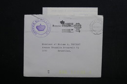 BELGIQUE - Enveloppe De Waterloo Du Service Du Roi Léopold Pour Bruxelles En 1983 Avec Contenu - L 28901 - Cartas