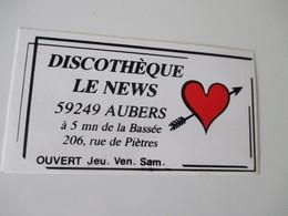 Autocollant Discothèque Le News Aubers - Aufkleber